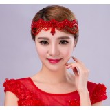 red crown bridal hair accessories