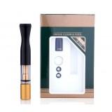 Resin + metal double-filtration cigarette holder