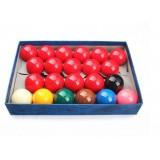 Resin snooker balls