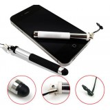 Retractable capacitive touch pen