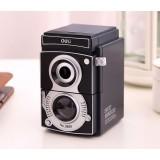 Retro camera style creative pencil sharpener
