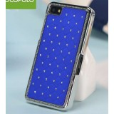 Rhinestone cell phone protective cover for Blackberry Z10