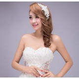 Rhinestone flowers bridal hair accessories
