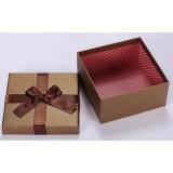 Romantic bow square favor box
