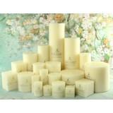Romantic classic wedding candles