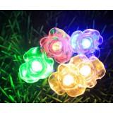 Romantic roses waterproof LED holiday lights
