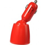 rotatable dual USB car charger for iphone ipad ipod ipadmini
