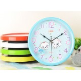Round 12 inch cartoon wall clock
