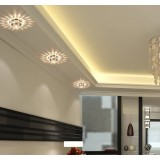 Round Crystal 3W LED ceiling lights