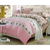 Rural cotton series 4pcs bedding sheet set