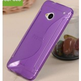 S-type protective cover for HTC ONE/M7