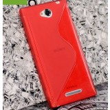 S-type protective cover for Sony Xperia C / S39H