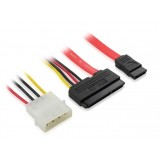 SATA 22P to 7p +4 p HDD Cable / SATA optical drive data cable / IDE power cable