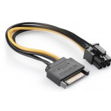 SATA power cable / 15-pin to 6PIN video card power line