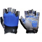 Silicone non-slip cycling gloves
