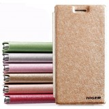 Silk texture flip protective sleeve for ZTE n919