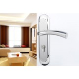 Simple stainless steel double tongue locks + stainless steel hinges