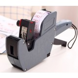 Single color price tag coding machine
