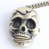 Skull series necklace watch