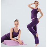 Sleeveless dancing yoga clothes suit