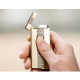 Slim electronic sensor windproof lighter