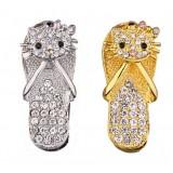 Slipper Jewelry Usb Flash Drive