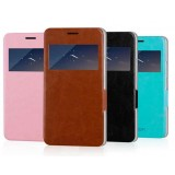 Smart window Mobile phone protective cover for Huawei G750 / honor 3X