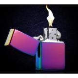 Solid color copper oil lighter