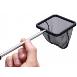 square stainless steel fish tank retractable fishing net