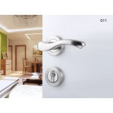 Stainless steel split wood door lock / home interior door locks