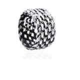Sterling silver weave fashion men's ring