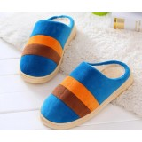 Stripes indoor plush slipper