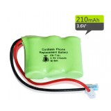 T101 NiMH rechargeable battery pack 3.6V 210mAh