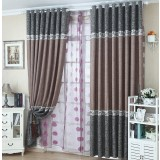 Thicker customize linen curtains