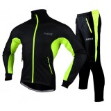 Thicker long-sleeved riding clothes kit