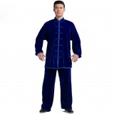 thicker velvet Tai Chi clothing