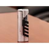Titanium alloy gas windproof lighter