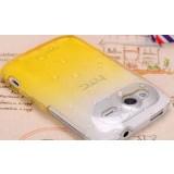 Transparent matte mobile case for HTC G13 / S510e / wildfire s