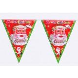 Triangle Christmas hoisting flags