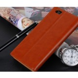 Ultra-thin leather protective cover for ZTE s2002