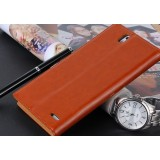 Ultrathin handmade leather case for ZTE memo2 / m901c