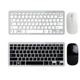 Ultrathin mini wireless keyboard and mouse set