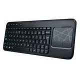 ultrathin Wireless Multimedia Keyboard with Touchpad