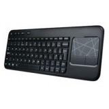 ultrathin Wireless Multimedia Keyboard with Touchpad