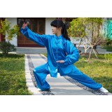 Unisex silk Tai Chi clothing
