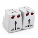 Universal adapter plug / Multifunction USB power plug converters