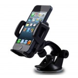 Universal phone holder + air outlet + sucker