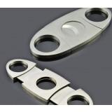 Universal stainless steel cigar cutter