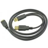 usb3.0 dual powered mobile hard disk data cable / Micro usb3.0 data cable