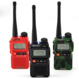UV dual frequency band two-way radio walkie talkie